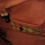 5-Pocket-Bag Innentasche und Schlüsselhalter
